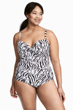H&M+ Swimsuit - Zebra print - Ladies | H&M CN 1
