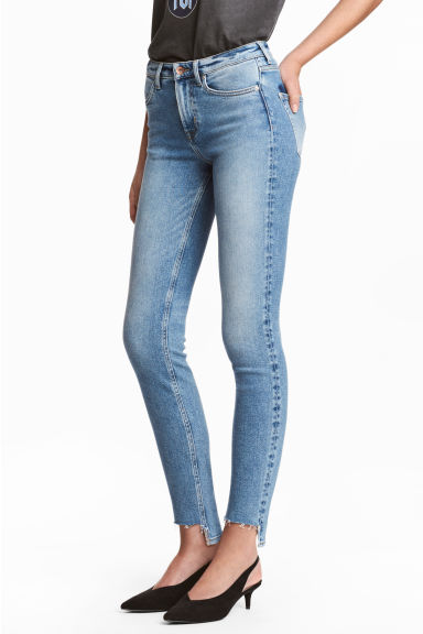 Slim Regular Ankle Jeans - Azul denim - SENHORA | H&M PT 1