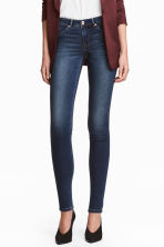 Feather Soft Low Jeggings - Azul denim oscuro/Lavado - MUJER | H&M ES 1