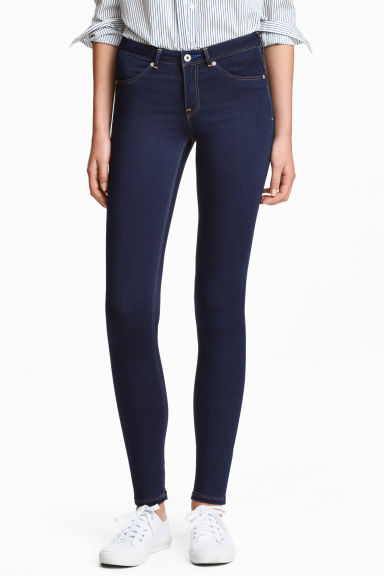 Feather Soft Low Jeggings - Dark denim blue - Ladies | H&M CA 1