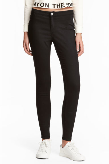 Jeans super elasticizzati - Nero - DONNA | H&M IT