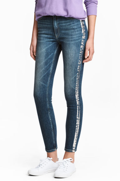 Slim High Ankle Jeans Model