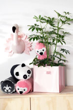 Coussin peluche - Rose/flamant rose - Home All | H&M FR 1