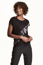 Top training - Noir -  | H&M FR 1