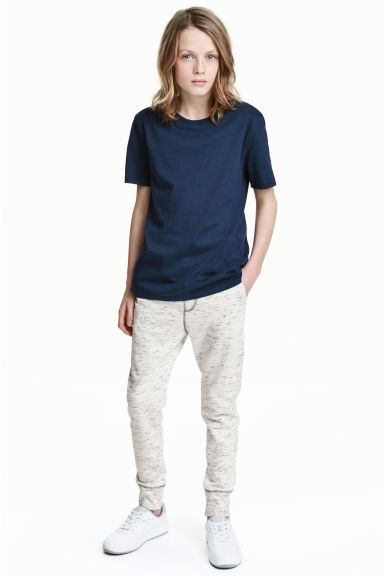 Joggers - Light beige marl - Kids | H&M 1