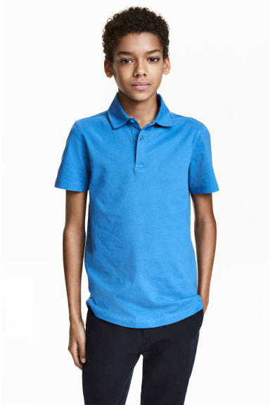 Polo shirt - Cornflower blue - Kids | H&M CN 1