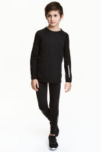 Sports tights - Black - Kids | H&M CN 1
