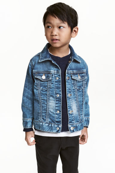 Denim jacket - Denim blue - Kids | H&M CN 1