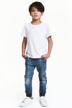 Super Soft denim joggers - Denim blue - Kids | H&M CN 1