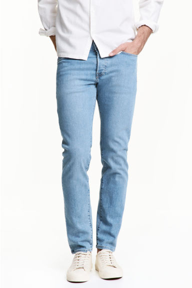 Slim Low Jeans - Light denim blue - Men | H&M