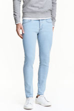 Skinny Low Jeans - Light denim blue - Men | H&M CN 1
