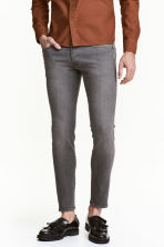 Skinny Low Jeans - Grey denim - Men | H&M CN 1