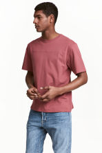 T-shirt - Pale red - Men | H&M CN 1