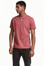 Polo shirt - Pale red - Men | H&M 1