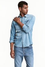 Denim shirt - null - Men | H&M CN 1