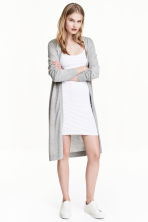 Short jersey dress - White - Ladies | H&M CN 1