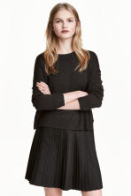 Fine-knit jumper - Dark grey - Ladies | H&M CA 1
