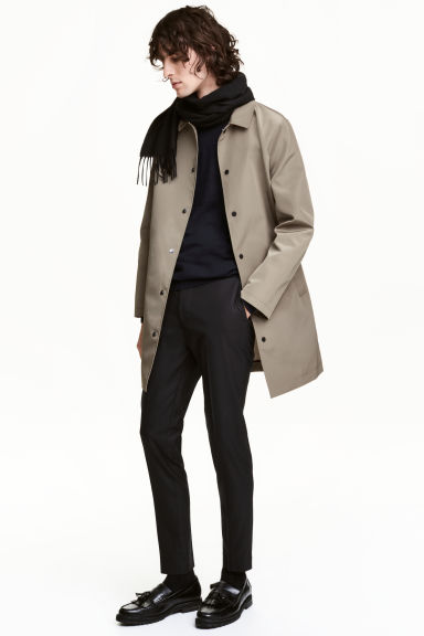 Car coat - Dark beige - Men | H&M 1
