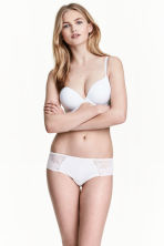 Microfibre hipster briefs - White - Ladies | H&M CA 1