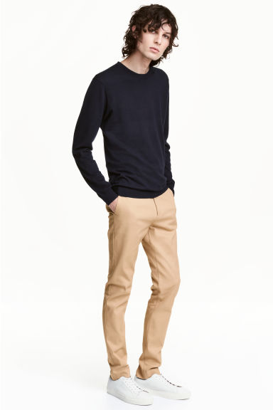 Chinos Slim fit - Beige - Men | H&M 1
