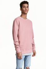 Sweatshirt - Pale pink - Men | H&M 2