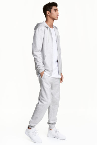 Sweatpants - Light grey - Men | H&M CN 1