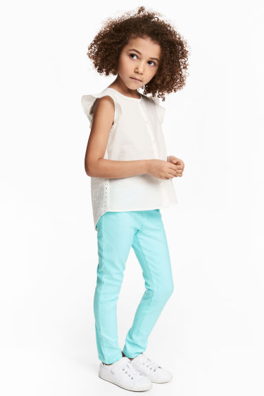 Treggings - Light turquoise -  | H&M 1
