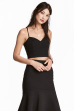 Bustier - Black - Ladies | H&M 1