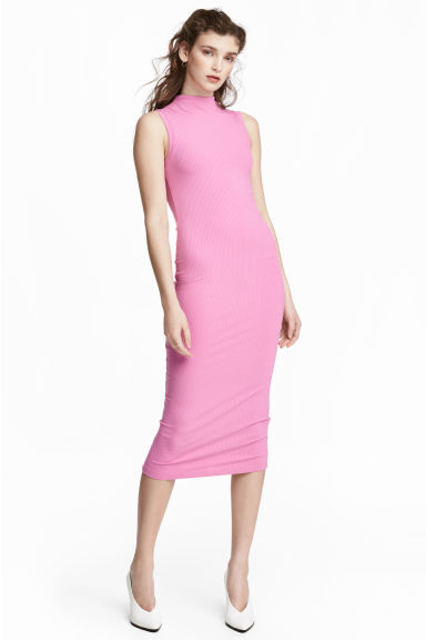 Robe moulante - Rose -  | H&M CA