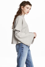 Sweatshirt - Light grey marl - Ladies | H&M 1