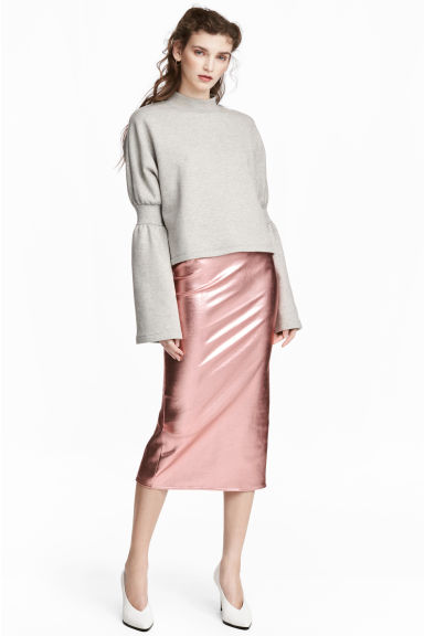 Pencil skirt - Pink - Ladies | H&M CN 1