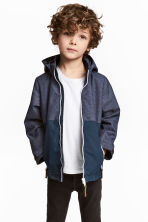 Outdoor jacket - Dark blue marl - Kids | H&M 1
