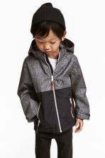 Outdoor jacket - Dark grey marl -  | H&M 1