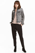 Pull-on trousers - Black - Ladies | H&M CA 1