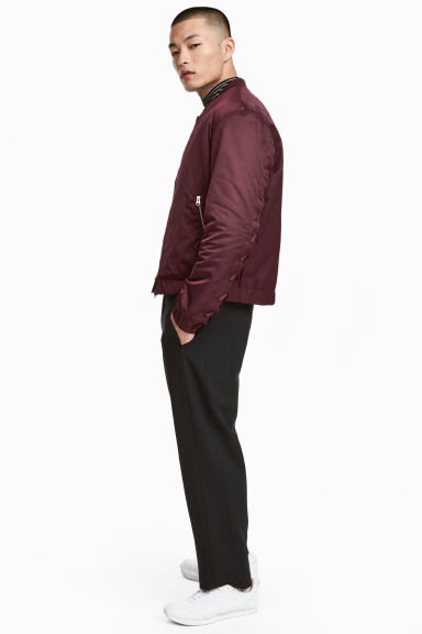Wide trousers - Black - Men | H&M 1