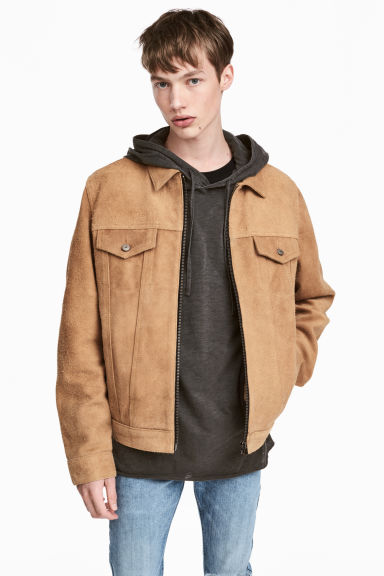 Suede jacket - Camel - Men | H&M 1