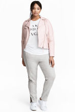 H&M+ Joggers - Light grey marl - Ladies | H&M 1