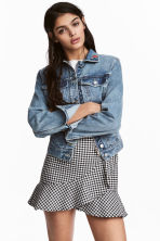 Denim jacket - Light denim blue - Ladies | H&M CA 1