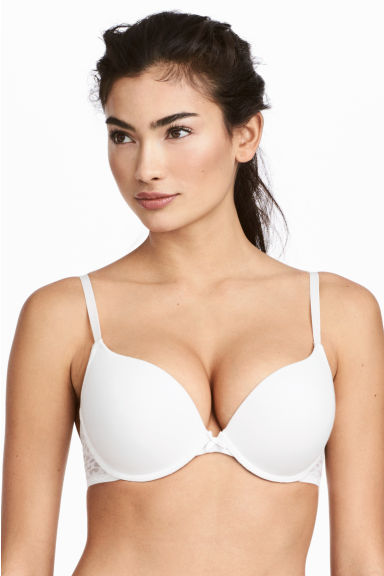 Super push-up bra - White - Ladies | H&M 1