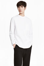 Long-sleeved T-shirt - White - Men | H&M CN 1
