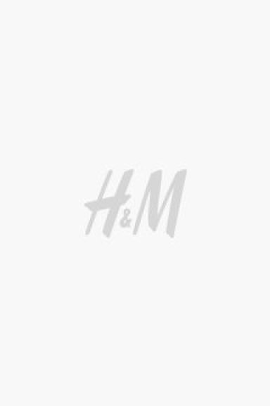 Straight Cropped Regular Jeans - 牛仔蓝 - 女士 | H&M CN 1
