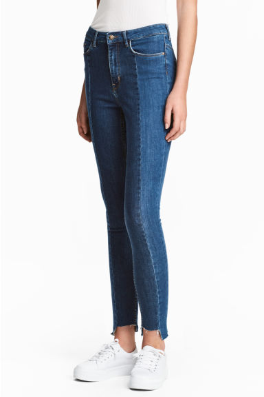 Straight High Jeans - Denim blue - Ladies | H&M CN 1
