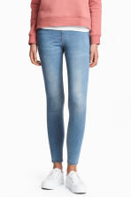 Denim leggings - Light denim blue - Ladies | H&M CN 1