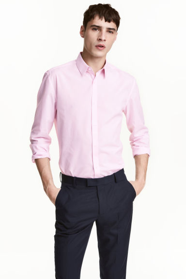 Camisa Slim fit Easy iron Modelo