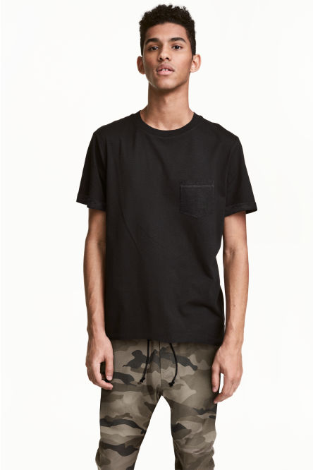 T-shirt with a chest pocket