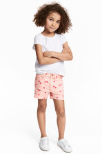 Short court en twill - Rose/cerise - ENFANT | H&M FR 1