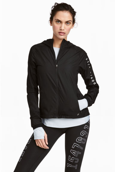 Light running jacket - Black - Ladies | H&M CN 1