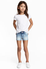 Denim shorts - Light denim blue -  | H&M CA 1
