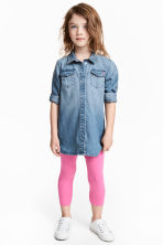 3/4-length leggings - Cerise - Kids | H&M CN 1