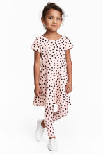 Jersey dress - Light pink/Spotted -  | H&M 2